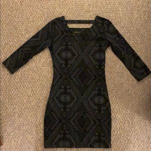 Billabong Black and Grey dress